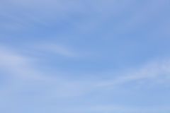 Blurred natural sky and cloud Royalty Free Stock Photo