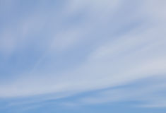 Blurred natural sky and cloud Stock Image