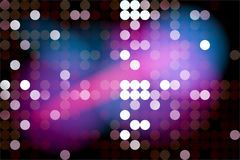 Blurred neon background Stock Photography