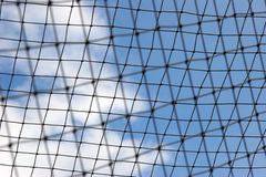Blurred netting Royalty Free Stock Image