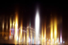 Blurred night background city lights Royalty Free Stock Photo