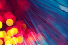 Blurred night lights Stock Image