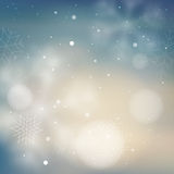 Blurred pale blue winter background Stock Photo