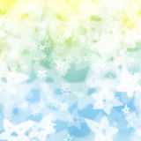 Blurred party stars background Stock Photography