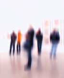 Blurred people Royalty Free Stock Photos