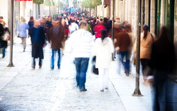 Blurred people Stock Photo