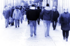 Blurred people Royalty Free Stock Photo
