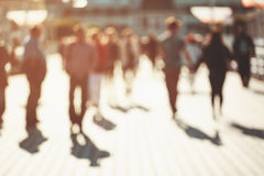 Blurred people background Royalty Free Stock Images