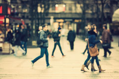 Blurred people Stock Photography