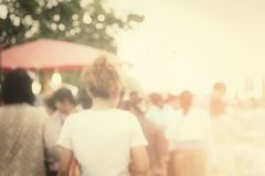Blurred people Royalty Free Stock Images