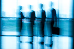 Blurred people at the office Stock Photography