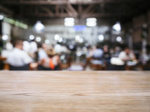 Blurred people in Restaurant Bar Cafe background Stock Photos