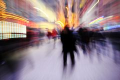 Blurred people Royalty Free Stock Photography