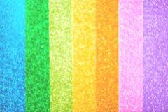 blurred rainbow light glitter, festive background Stock Photography