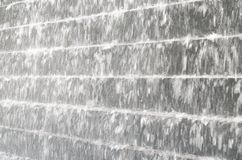Blurred rapid flowing water like a waterfall Royalty Free Stock Image