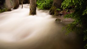 Blurred river stock footage