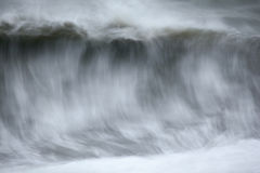 Blurred sea wave Royalty Free Stock Images