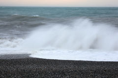 Blurred sea wave Royalty Free Stock Photography