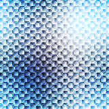 Blurred seamless cell pattern. Royalty Free Stock Photos