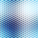 Blurred seamless cell pattern. Royalty Free Stock Photography