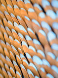 Blurred shells on the wall Royalty Free Stock Photo