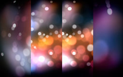 Blurred of shine lights. An abstract blurred of shine lights backdrop for festival background Stock Image