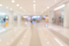 Blurred shopping mall Stock Photos