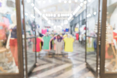 Blurred shopping mall Royalty Free Stock Image