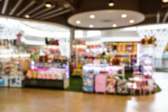 Blurred Shopping mall Royalty Free Stock Photos