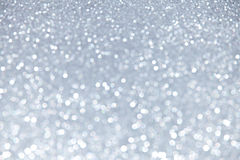 Blurred Silver Sparkles Royalty Free Stock Photo