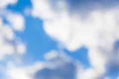 Blurred Sky Stock Image