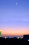 Blurred sky sunset in city,Bangkok Thailand Stock Photography