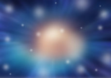 Blurred space Stock Image