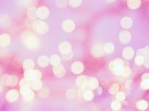 Blurred sparkeling pink soft background. Sparkeling lights on pink background stock photos