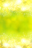 Blurred spring background. Green texture with lights Royalty Free Stock Images