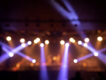 Free Blurred Stage Light Concert Background Royalty Free Stock Images - 210541329