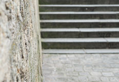 Blurred stairs background Royalty Free Stock Images