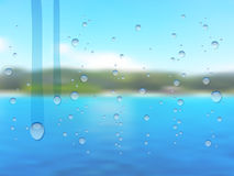 Blurred summer background Royalty Free Stock Image