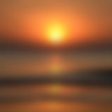 Blurred Sunrise Background,Early Morning Light, The Natural Lighting Phenomena. Stock Photography