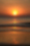 Blurred Sunrise Background,Early Morning Light, The Natural Lighting Phenomena. Stock Photo