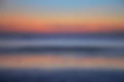 Blurred Sunrise Background,Early Morning Light, The Natural Lighting Phenomena. Stock Images