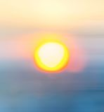 Blurred Sunset Stock Photos