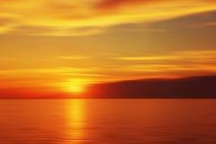 Blurred sunset Royalty Free Stock Image