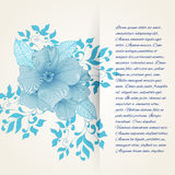 Blurred texture with flower Stock Photo