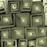 Glowing texture of gray squares, abstraction for a background. royalty free illustration