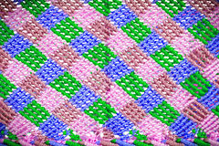 Blurred texture of plastic weave Royalty Free Stock Image