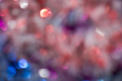 Blurred Tinsel Stock Image