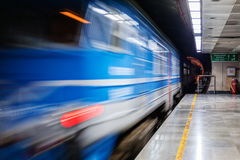 Blurred train Royalty Free Stock Photos