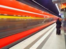 Blurred transit Royalty Free Stock Photos