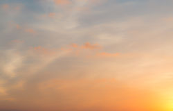 Blurred twilight sky Royalty Free Stock Photos
